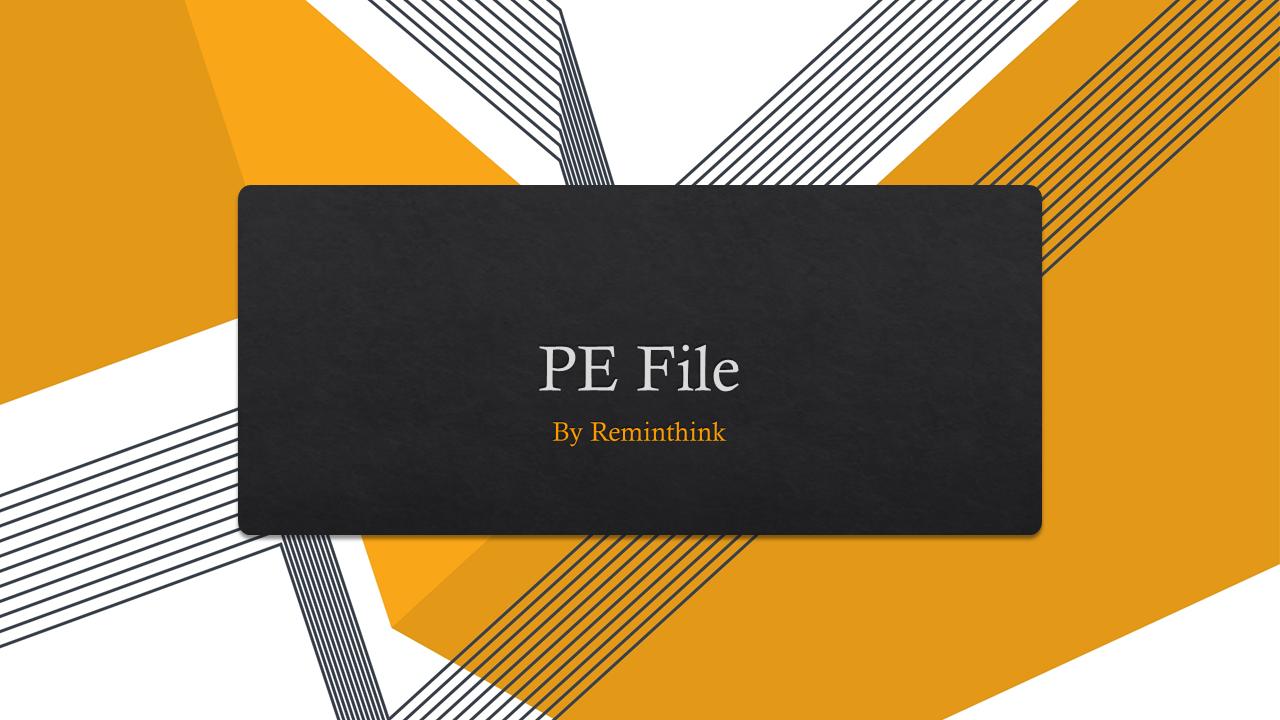 Cover of PE File