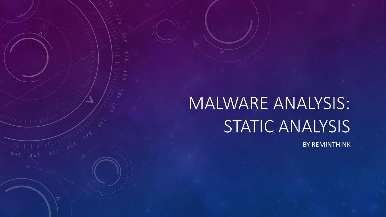 Cover of Malware Analysis: Static Analysis